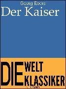 Cover-Bild zu Der Kaiser (eBook) von Ebers, Georg