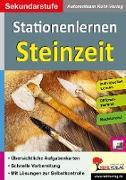 Cover-Bild zu Kohls Stationenlernen Steinzeit