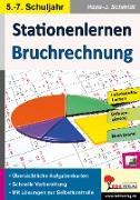 Cover-Bild zu Stationenlernen Bruchrechnung von Schmidt, Hans-J.