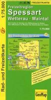 Cover-Bild zu Freizeitregion Spessart. 1:75'000