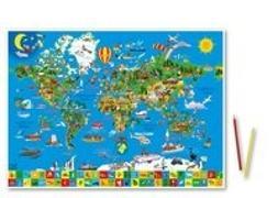 Cover-Bild zu Deine bunte Erde. 1:60'000'000 von Schönhoff, Doris