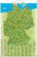 Cover-Bild zu Illustrierte Deutschlandkarte von Schönhoff, Doris