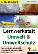 Cover-Bild zu Lernwerkstatt Umwelt & Umweltschutz von Liebig, Beate