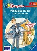 Cover-Bild zu Polizeiabenteuer zum Lesenlernen - Leserabe 1. Klasse - Erstlesebuch für Kinder ab 6 Jahren von Reider, Katja