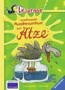 Cover-Bild zu Haarsträubende Monsterabenteuer von Ätze - Leserabe 3. Klasse - Erstlesebuch für Kinder ab 8 Jahren von Scheffler, Ursel