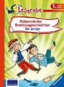 Cover-Bild zu Rabenstarke Erstlesegeschichten für Jungs - Leserabe 1. Klasse - Erstlesebuch für Kinder ab 6 Jahren von Neudert, Cee