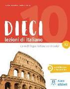 Cover-Bild zu Dieci A2. Kurs- und Arbeitsbuch mit DVD-ROM von Naddeo, Ciro Massimo