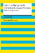 Cover-Bild zu Die Leiden des jungen Werthers. Erste Fassung von 1774 (eBook) von Goethe, Johann Wolfgang