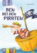 Cover-Bild zu KidS - Klassenlektüre in drei Stufen: Ben bei den Piraten - Lesestufe 2 von Weber, Annette