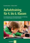 Cover-Bild zu Aufsatztraining für 4. bis 6. Klassen von Glaser, Cornelia