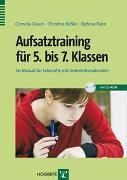 Cover-Bild zu Aufsatztraining für 5. bis 7. Klassen von Glaser, Cornelia