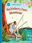 Cover-Bild zu Twain, Mark: Huckleberry Finns Abenteuer