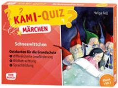Cover-Bild zu Kami-Quiz Märchen: Schneewittchen von Fell, Helga