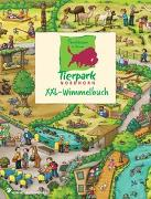 Cover-Bild zu Tierpark Nordhorn XXL - Wimmelbuch von Görtler, Carolin (Illustr.)