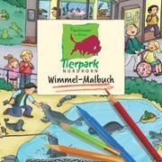Cover-Bild zu Tierpark Nordhorn Wimmel-Malbuch von Görtler, Carolin