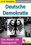Cover-Bild zu Deutsche Demokratie (eBook) von Gross, Manuel