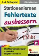 Cover-Bild zu Stationenlernen Fehlertexte ausbessern / Klasse 3-4 (eBook) von Weimann, Viktoria