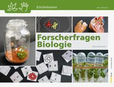 Cover-Bild zu Forscherfragen Biologie - Schülerkarten von Lehmann, Alex