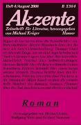 Cover-Bild zu Krüger, Michael (Hrsg.): Akzente 4 / 2008