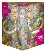 Cover-Bild zu Elephant's Life Puzzle von Degano, Marino