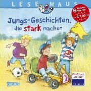Cover-Bild zu Vohwinkel, Christa: LESEMAUS Sonderbände: Jungs-Geschichten, die stark machen