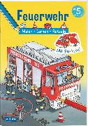 Cover-Bild zu Schröder, Ilka: Feuerwehr: Malen Lernen Rätseln