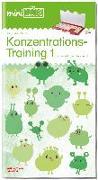 Cover-Bild zu miniLÜK Konzentrationstraining 1: für Vor- und Grundschulkinder / concentration training