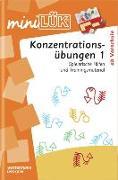 Cover-Bild zu miniLÜK. Konzentrationsübungen 1 von Müller, Heiner