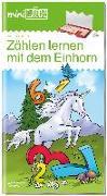 Cover-Bild zu miniLÜK. Zählen lernen mit dem Einhorn