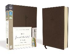 Cover-Bild zu Zondervan,: NIV, Journal the Word Bible, Leathersoft, Brown, Red Letter, Comfort Print