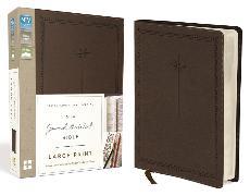 Cover-Bild zu Zondervan,: NIV, Journal the Word Bible, Large Print, Leathersoft, Brown