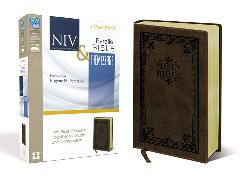 Cover-Bild zu Zondervan,: NIV, The Message, Parallel Bible, Large Print, Leathersoft, Brown
