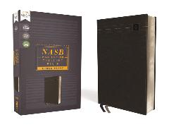 Cover-Bild zu Zondervan,: NASB, Thinline Bible, Large Print, Leathersoft, Black, Red Letter, 2020 Text, Comfort Print