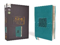 Cover-Bild zu Zondervan,: NASB, Thinline Bible, Leathersoft, Teal, Red Letter, 2020 Text, Comfort Print