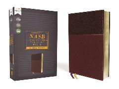Cover-Bild zu Zondervan,: NASB, Thinline Bible, Large Print, Leathersoft, Burgundy, Red Letter, 2020 Text, Comfort Print