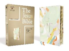 Cover-Bild zu Zondervan,: The Jesus Bible Artist Edition, ESV, Leathersoft, Multi-color/Teal, Thumb Indexed