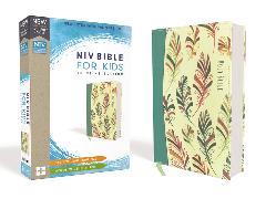 Cover-Bild zu Zondervan,: NIV, Bible for Kids, Flexcover, Teal, Red Letter, Comfort Print