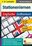 Cover-Bild zu Kohls Stationenlernen Englische Zeitformen 1 (eBook) von Hamblock, Barbara