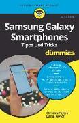 Cover-Bild zu Samsung Galaxy Smartphones Tipps und Tricks für Dummies von Peyton, Christine