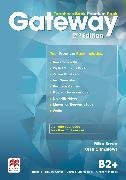 Cover-Bild zu Gateway 2nd edition B2+ Teacher's Book Premium Pack von Sayer, Mike