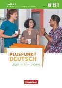 Cover-Bild zu Pluspunkt Deutsch - Leben in Deutschland, Allgemeine Ausgabe, B1: Gesamtband, Testheft mit Audio-CD von Maenner, Dieter