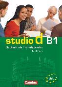 """Cover-Bild zu Studio d, Deutsch als Fremdsprache, Grundstufe, B1: Gesamtband, Testheft B1 mit Modelltest """"Zertifikat Deutsch"""", Mit Audio-CD von Maenner, Dieter"""