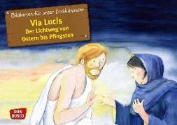 Cover-Bild zu Bildkarten für unser Erzähltheater: Via Lucis. Der Lichtweg von Ostern bis Pfingsten von Arnold, Monika