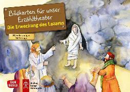 Cover-Bild zu Die Erweckung des Lazarus. Kamishibai Bildkartenset von Nommensen, Klaus-Uwe