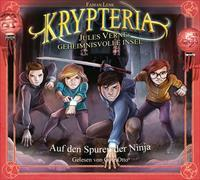Cover-Bild zu Lenk, Fabian: Krypteria - Jules Vernes geheimnisvolle Insel. Auf den Spuren der Ninja