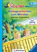 Cover-Bild zu Lenk, Fabian: Krimigeschichten zum Mitraten - Leserabe 2. Klasse - Erstlesebuch für Kinder ab 7 Jahren