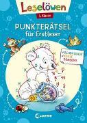 Cover-Bild zu Leselöwen Punkterätsel für Erstleser - 1. Klasse (Blau) von Loewe Lernen und Rätseln (Hrsg.)