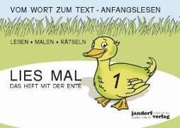 Cover-Bild zu Lies mal 1 - Das Heft mit der Ente. Großbuchstaben von Wachendorf, Peter