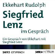Cover-Bild zu Siegfried Lenz im Gespräch (Audio Download) von Rudolph, Ekkehart