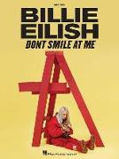 Cover-Bild zu Eilish, Billie (Gespielt): Billie Eilish - Don't Smile at Me: Easy Piano Songbook